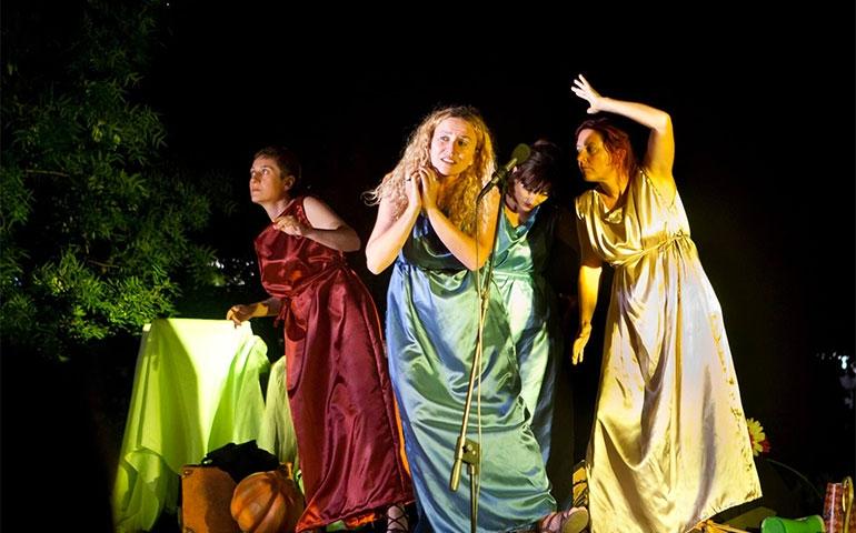 """""""La Città delle Dame"""": il teatro d'improvvisazione tutto al femminile"""