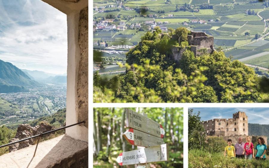Castelronda: il nuovo sentiero tra storia e natura del territorio di Bolzano
