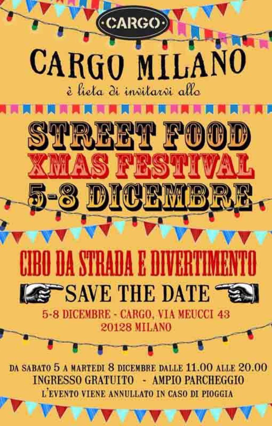 Street Food Xmas Festival da Cargo